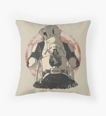 The baddest bikers club of the universe. Throw Pillow