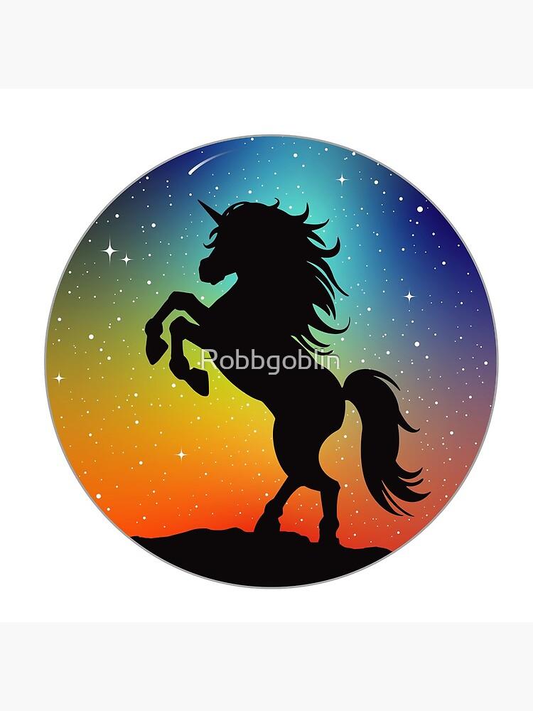 Unicorn Under the Night Sky by Robbgoblin