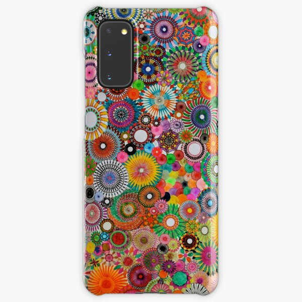 Childhood Dreams, a colourful spirograph drawing! Samsung Galaxy Snap Case