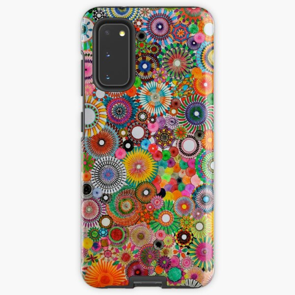 Childhood Dreams, a colourful spirograph drawing! Samsung Galaxy Tough Case
