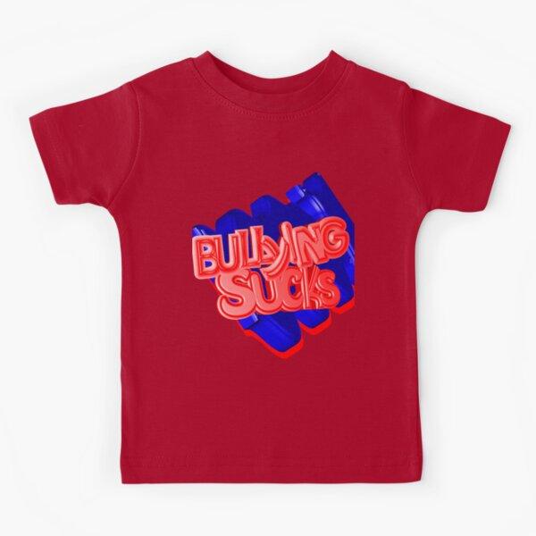 Bullying Sucks Kids T-Shirt