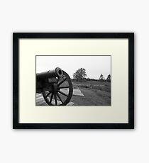 Saratoga Battlefield Framed Print