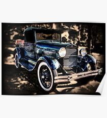 Ford Model A Truck Poster