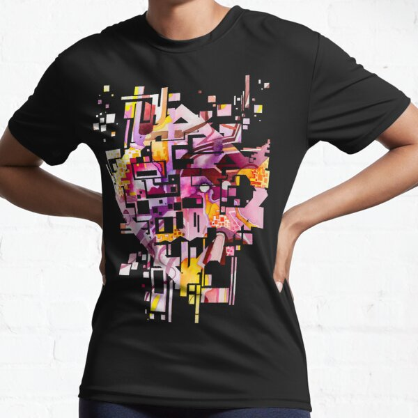 Sunberry - Abstract Watercolor Painting Active T-Shirt