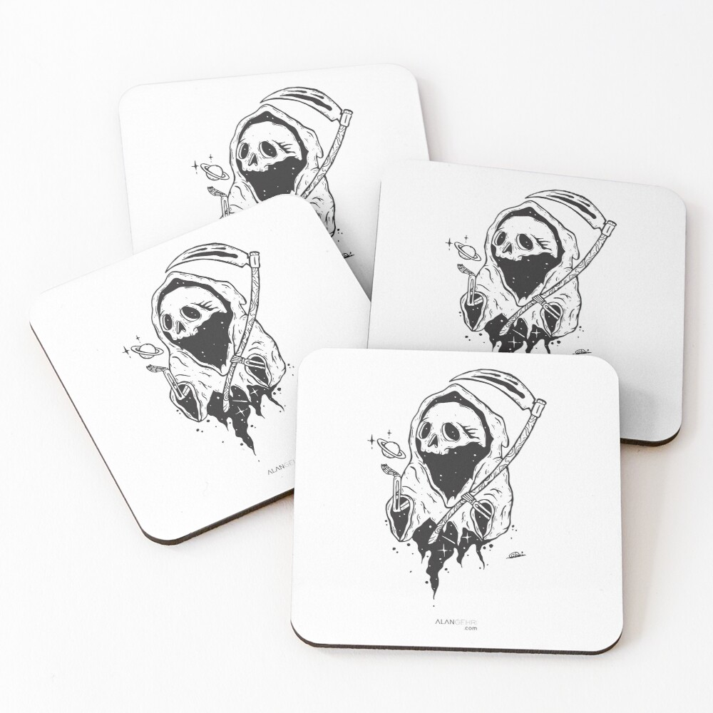 If a man has no purpose his life is just continuous death Coasters (Set of 4)