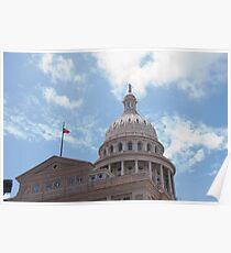 Texas Capitol Poster