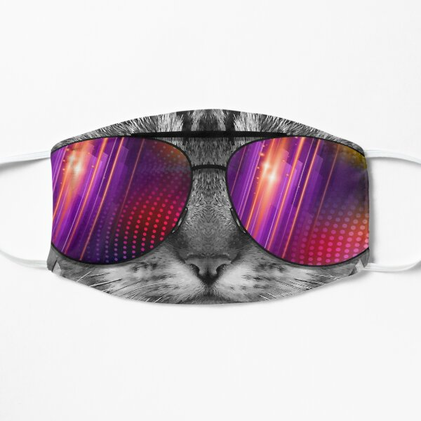 Sunglasses Cat Mask