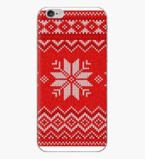 Christmas Knitted  pattern  iPhone Case
