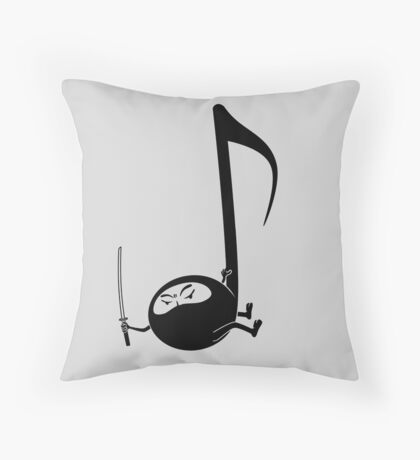 Ninjaaaaah! Throw Pillow