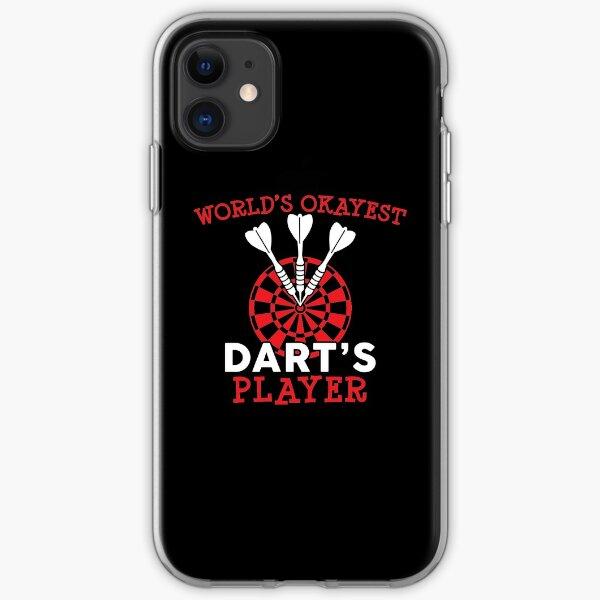 World's Okayest Darts Player Bullseye iPhone Soft Case