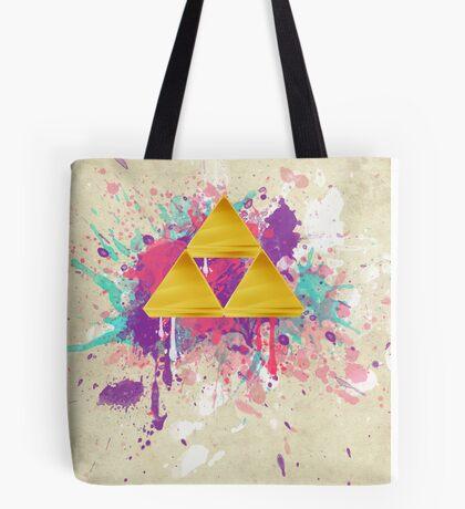 Triforce Splash Tote Bag