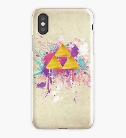 Triforce Splash iPhone Case/Skin