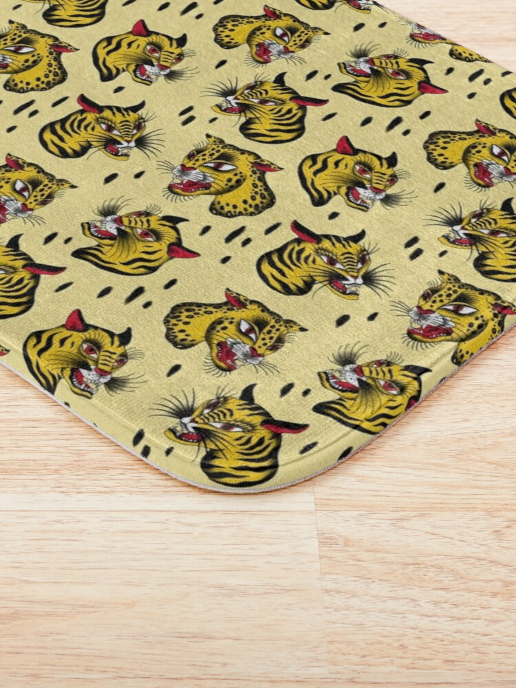 Alternate view of Tiger! Tiger! Bath Mat