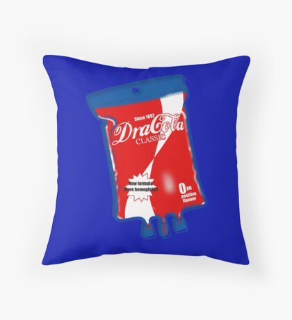 Dracola Classic. Throw Pillow
