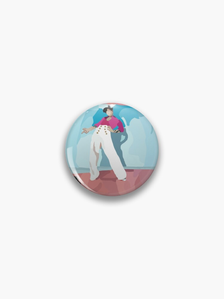 Harry Styles Fine Line Album Cover Art Pin By Gigibrollins Redbubble