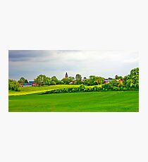 GREEN VILLAGE Photographic Print