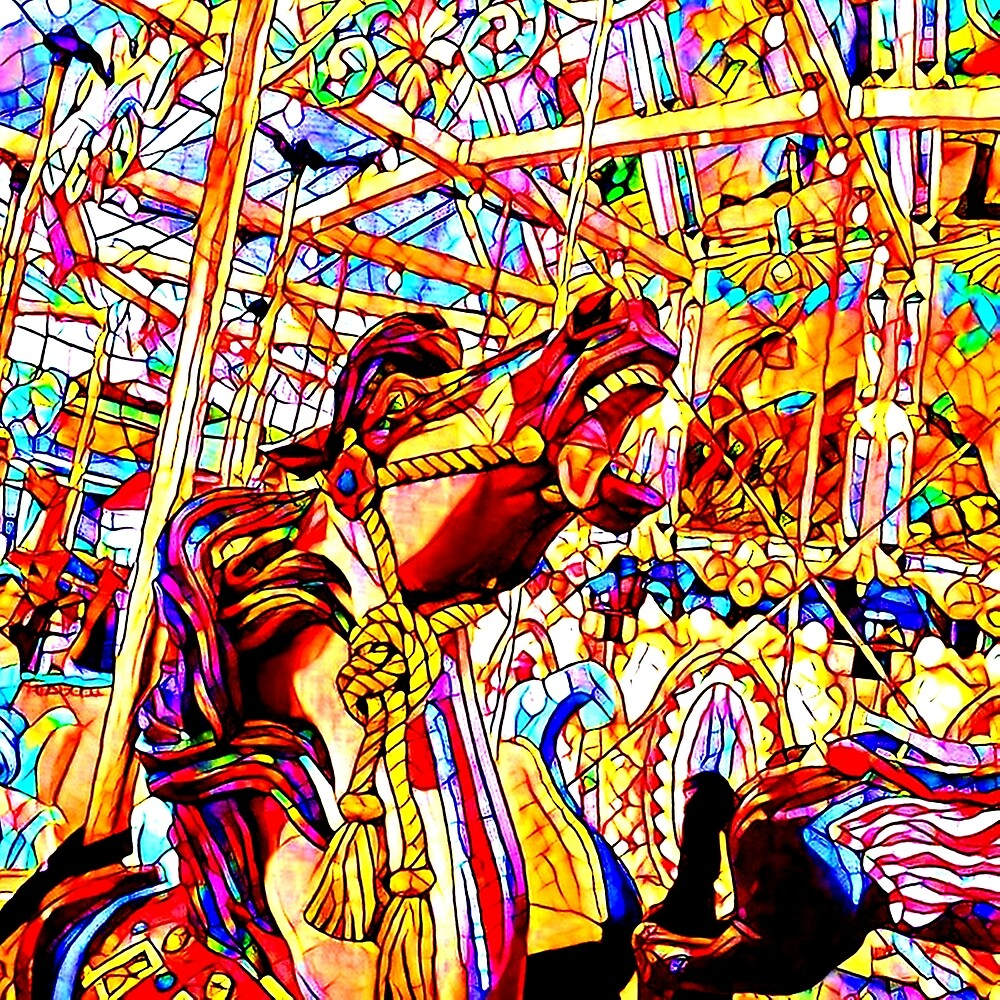 CAROUSEL HORSE by paulvolker