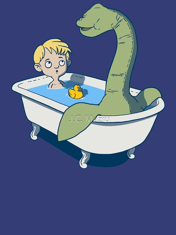 There's something in my bath!! by jcmaziu