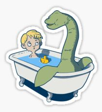 There's something in my bath!! Sticker