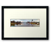 LAKE VIEW, HIGH POINT, NC, USA Framed Print
