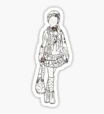 Clothes As Timeless As Vintage Vases Sticker