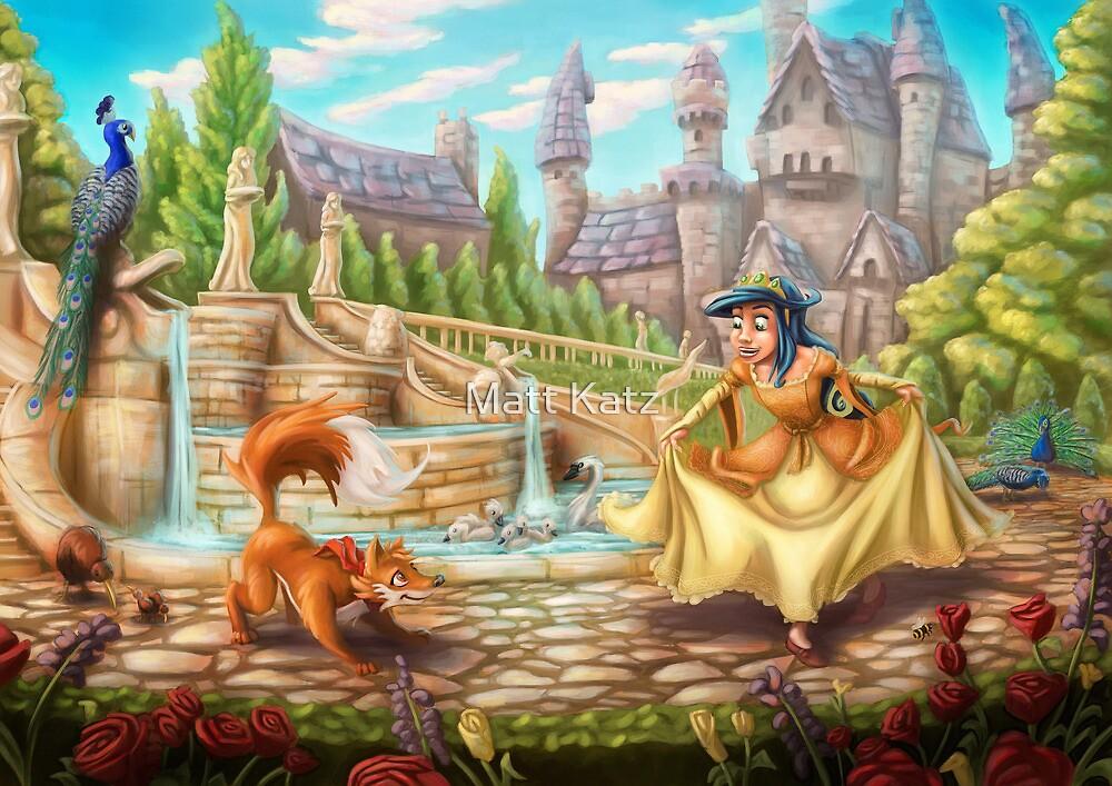 The Princess and the Fox by Matt Katz