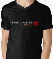 Keep walking... even dead #2 Mens V-Neck T-Shirt