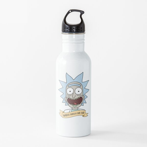 wubba lubba dub dub  Water Bottle