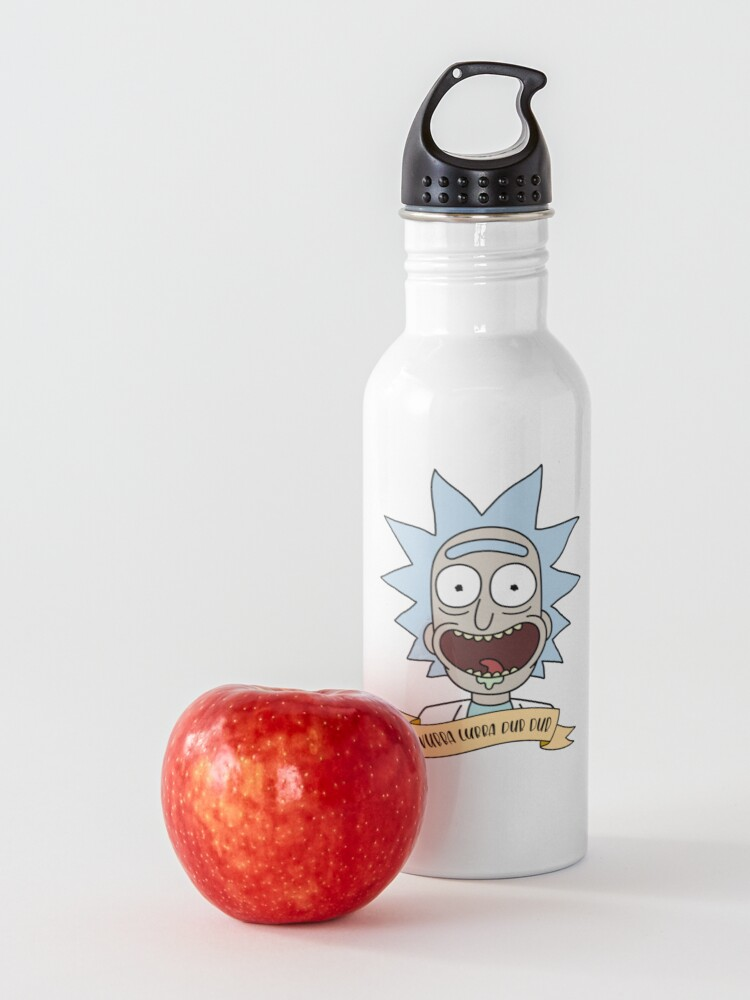 Alternate view of wubba lubba dub dub  Water Bottle