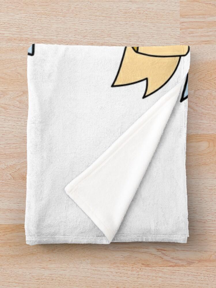 Alternate view of wubba lubba dub dub  Throw Blanket