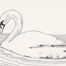 Swan 1 by Esther Green