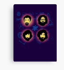 The Big Beards Theory Canvas Print