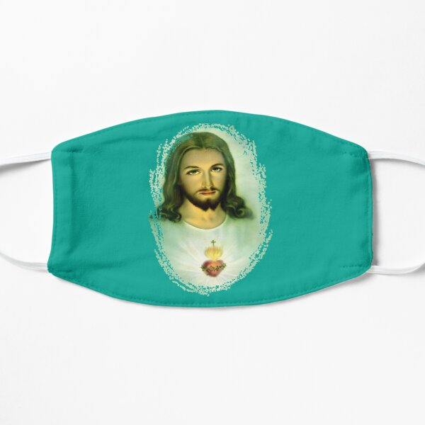 Sacred Heart of Jesus St Margaret Mary Alacoque & Faustina 200 Mask