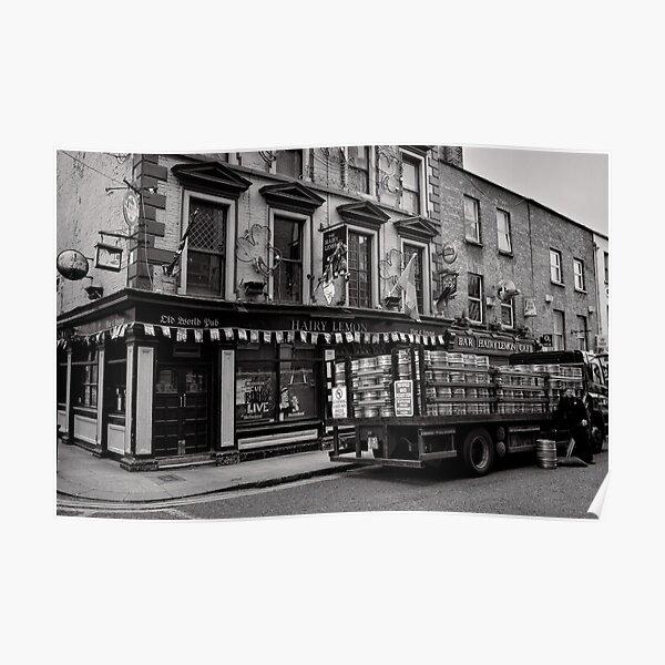 Precious cargo for a pub - Dublin Poster