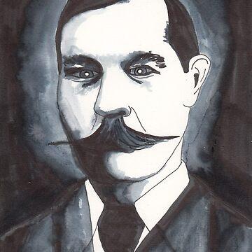 Arthur Conan Doyle by dinahstubbs