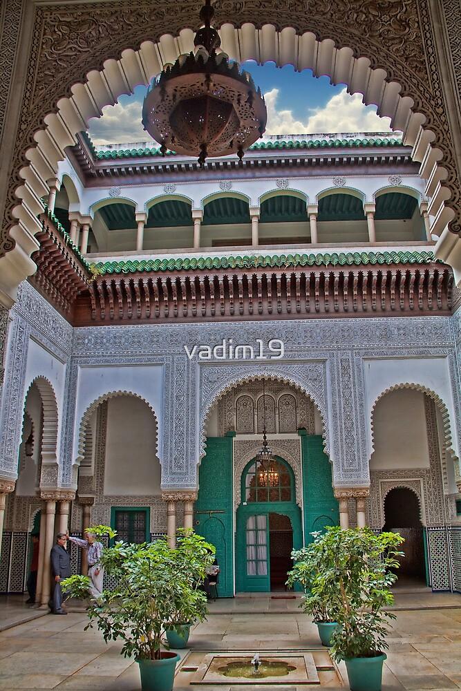 Morocco. Casablanca. City Hall. Courtyard. by vadim19