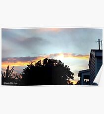 July 2012 Sunset 20 Poster