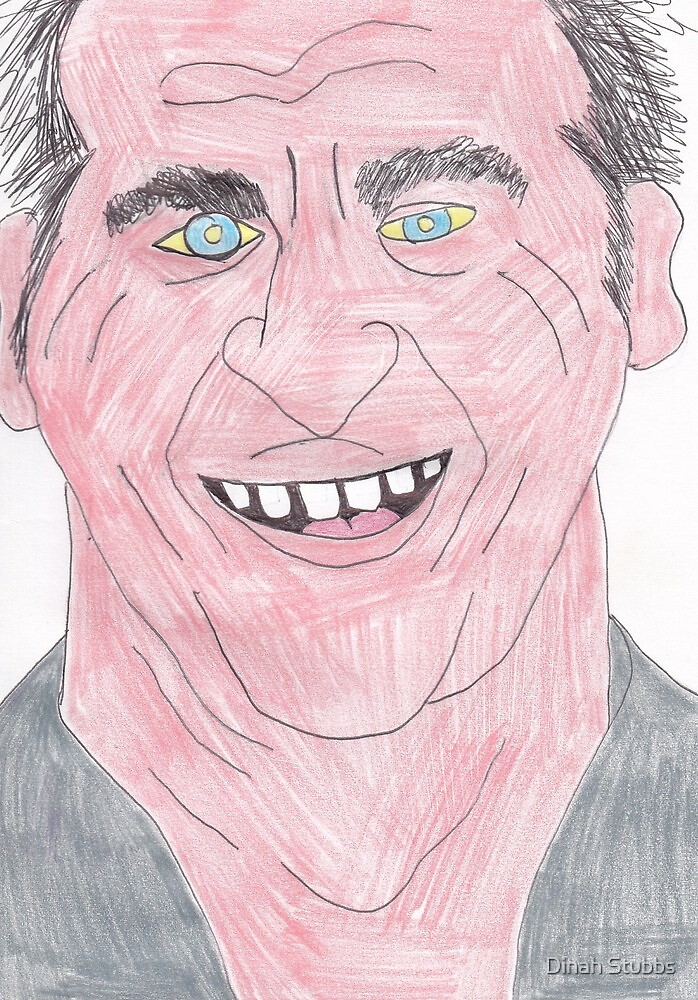 Mel Gibson by Dinah Stubbs