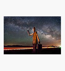 Cosmic Hitchhiker Photographic Print