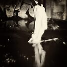 Stealthily the dark haunts round by Alexandra Ekdahl