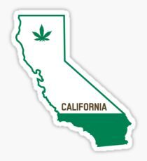 California The Green State Sticker