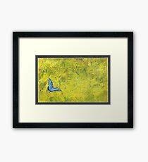 Blue Tiger Framed Print