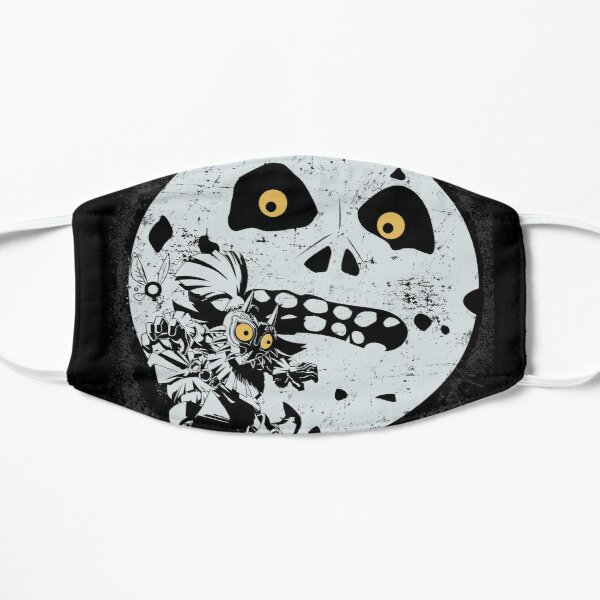 Majora's Moon Flat Mask