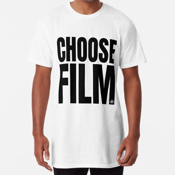 CHOOSE FILM Tee - Black Long T-Shirt