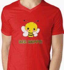 bee happy! Mens V-Neck T-Shirt