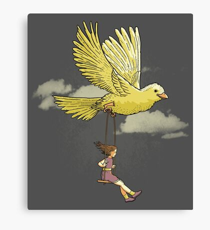 Higher, up to the sky!! Canvas Print