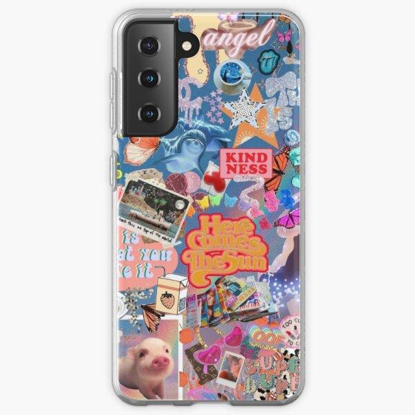 VSCO Girl Collage Samsung Galaxy Soft Case