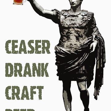 Ceaser Drank Craft Beer by CarlDurose