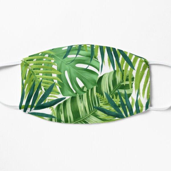Tropical leaves III Flat Mask