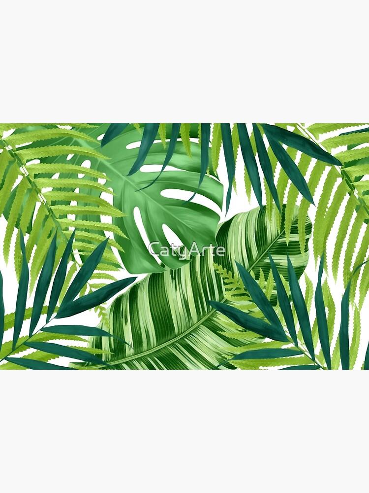 Tropical leaves III by CatyArte
